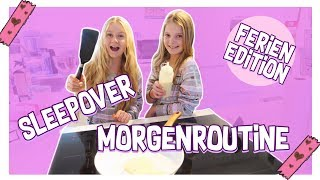BFF Morgenroutine Sleepover | MaVie Noelle Family