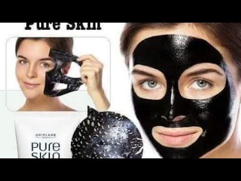 Pure Skin Charcoal Peel Off Mask Oriflame By Sweden With Best Results Youtube