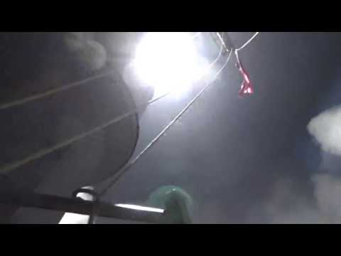US Fires Missiles Into Syria From USS Ross- Missile #2