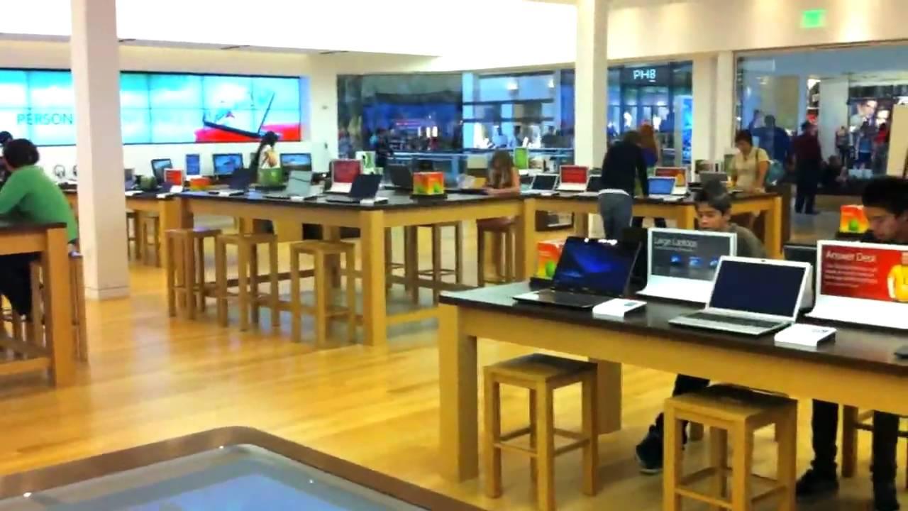 microsoft store tour youtube