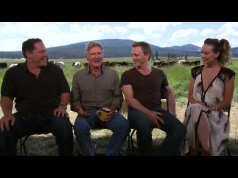 Cowboys & Aliens Cast On The Brit, The Jew, The Cowboy ...