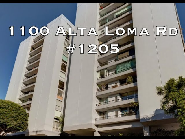 1100 Alta Loma Road #1205, West Hollywood, CA 90069