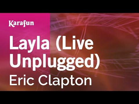Karaoke Layla (UnpluggedLive) - Eric Clapton *