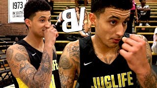 KYLE KUZMA Drew League DEBUT With NOBODY WATCHING - Kuz Double-Double in Week 6 Blowout