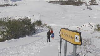 Vecina de Lunada dice que se ha quedado sin luz por el temporal de nieve