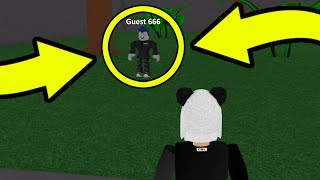 I'M BEING FOLLOWED BY GUEST 666 IN ROBLOX... (Scary)
