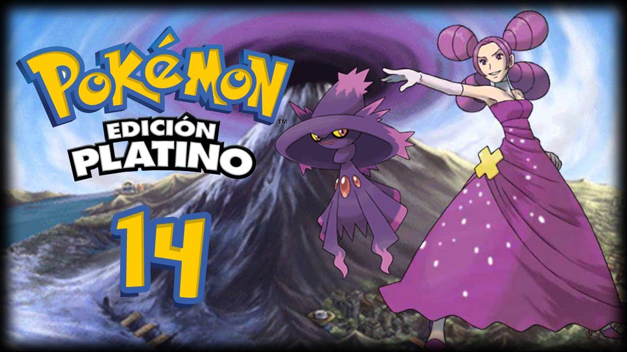 Pokémon Platino Cap14 Fantina La Danzarina Fantasmal Youtube