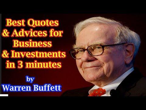 Warren Buffett Best Quotes in 3 minutes