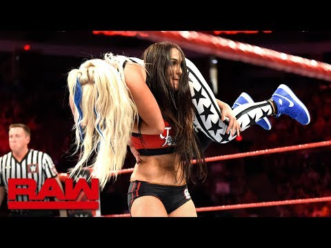 The Bella Twins return to action against The Riott Squad: Raw, Sept. 3, 2018