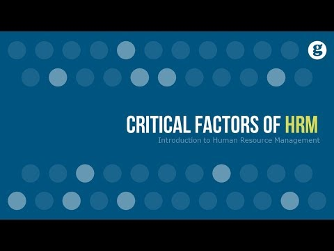 Critical Factors of
