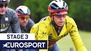 Critérium du Dauphiné 2019 | Stage 3 Highlights | Cycling | Eurosport