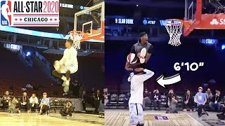 I WON THE NBA All-Star SLAM DUNK CONTEST (Jumped Over 6'10 Kris London of 2Hype!)