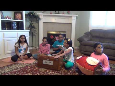 Kirtan By ISKCON Houston Kids