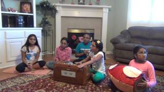 Kirtan by ISKCON Houston Kids
