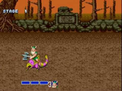 [Sega Genesis] - Golden Axe - Level 1 - Village Outskirts