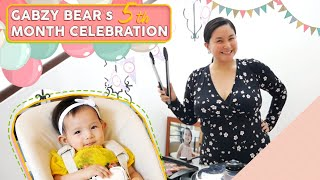 Gabzy Bear's 5th Month Celebration [Let's Share our Blessing]