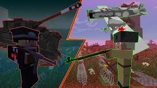 ГЕРМАНИЯ ПРОТИВ СССР в Minecraft - Кто сильнее?
