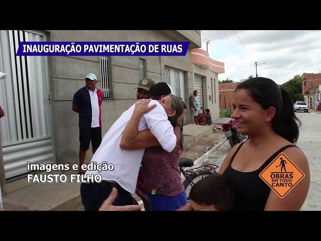 Inauguração de Pavimentação de ruas e reforma do Chafariz no Ceilão