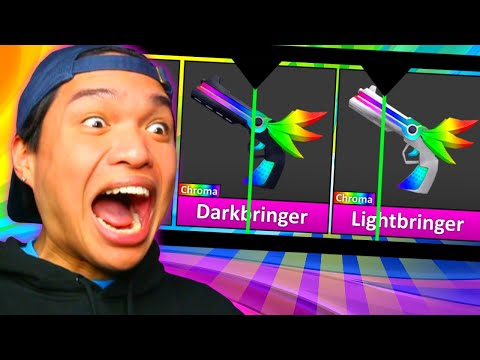 I UNBOXED TWO GODLYS IN A ROW! *INSANE LUCK*   Murder Mystery 2