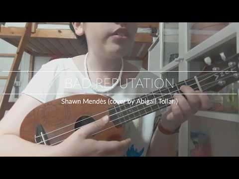 Bad Reputation - Shawn Mendès (Ukulele Cover)