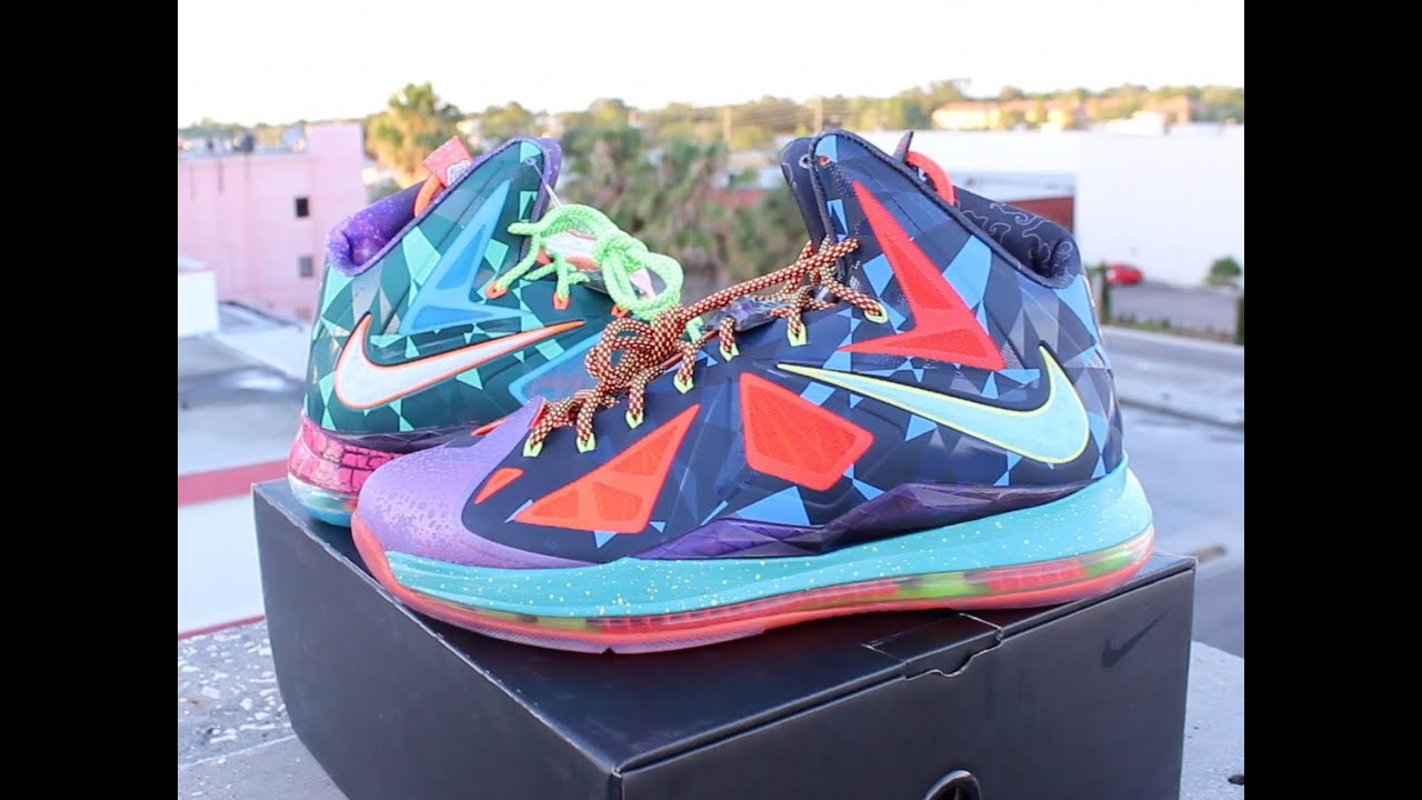 more photos 25ad3 b3cd0 Nike Lebron 10