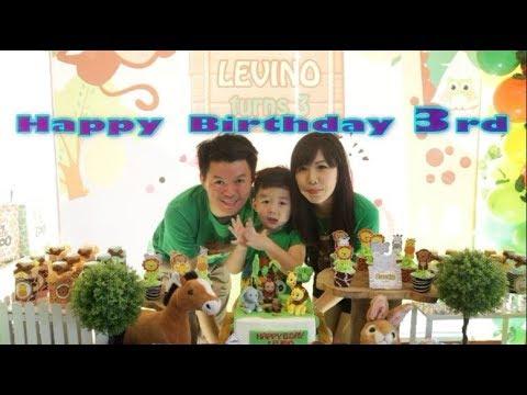 Happy Birthday Nono! | Ulang Tahun Baby Nono Ke-3