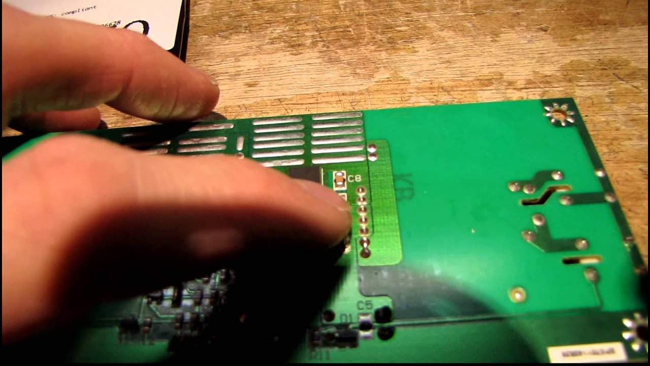quick repair and test toshiba lcd tv dvd combo [ 1280 x 720 Pixel ]