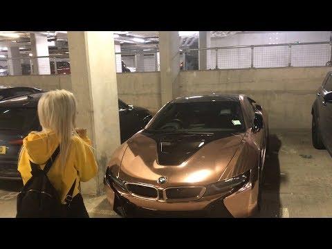 NEW ROSE GOLD BMW i8!!