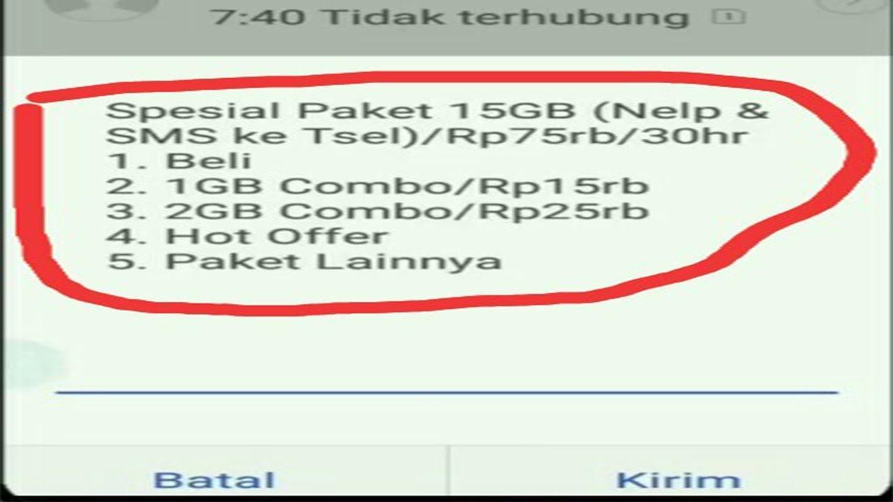 Cara Mengaktifkan Kembali Paket Flash Telkomsel - UnBrick.ID