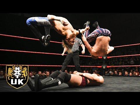 Mark Andrews & Flash Morgan Webster vs. Zack Gibson & James Drake: NXT UK, Dec. 19, 2018
