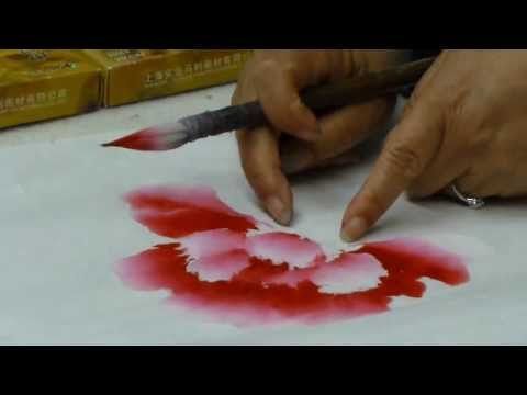 牡丹畫法01 牡丹王宋秀珍女士