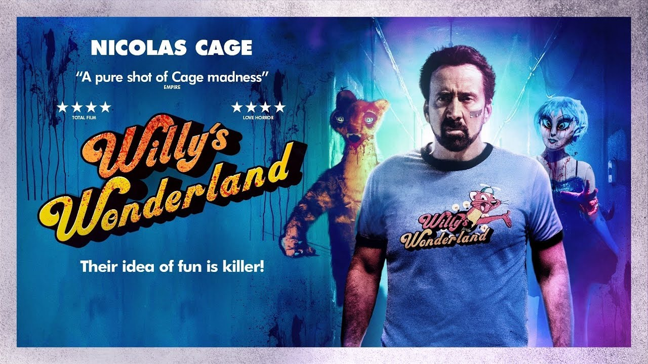 WILLY'S WONDERLAND official trailer 2021, film fragmanları 2021