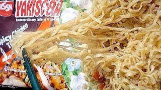 No.5215 Nissin (philippines) Yakisoba, Spicy Chicken, Teriyaki