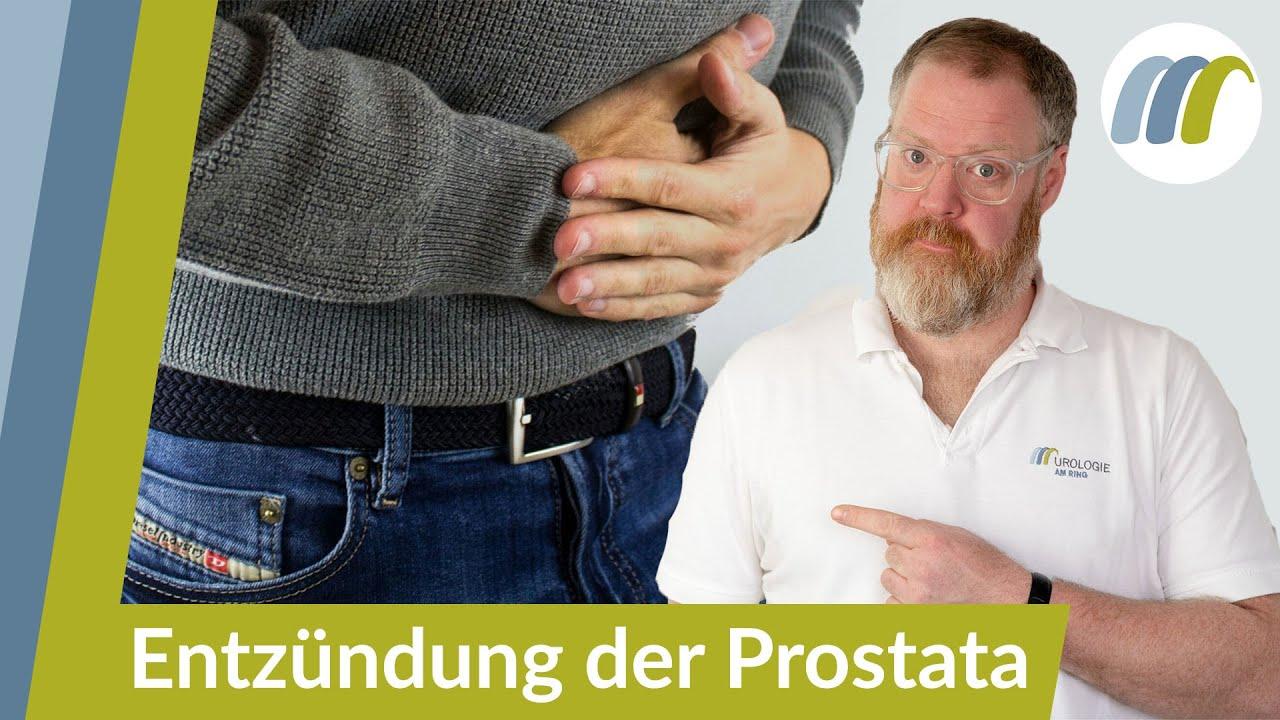 prostata vergrößert schmerzen