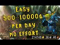 The Lazy Quick WoW Gold Guide 6.2 Using The Garrison and Resources (500g to 10k Per day)