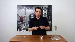WeinTUBE #1 Fünf Basics an Grundausstattung, die jeder Weintrinker braucht
