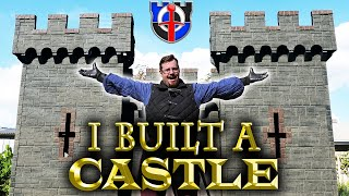 I BUILT A CASTLE. . . sort of, but this is only the beginning!