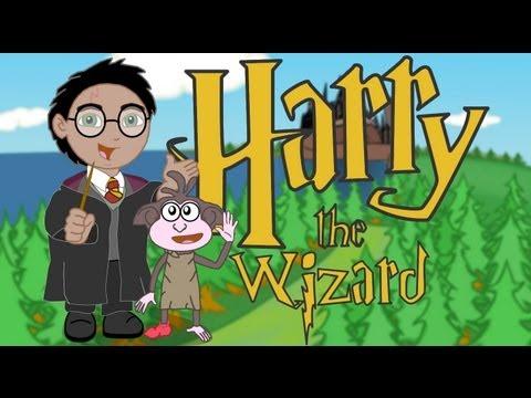 Harry the Wizard (Harry Potter meets Dora the Explorer!)