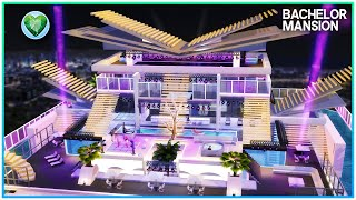 ULTIMATE PARTY MANSION: BACHELOR PAD [NO CC] - Sims 4 Speed Build   Kate Emerald