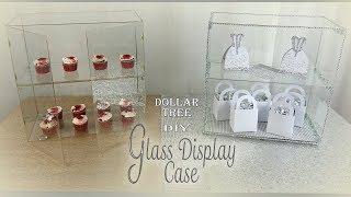 glass display shelf dollar tree diy party favor display shelf