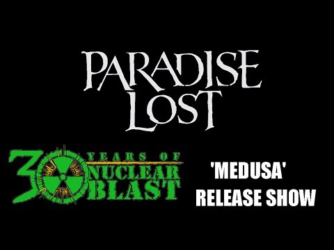 PARADISE LOST - Medusa Release Show (OFFICIAL TRAILER)