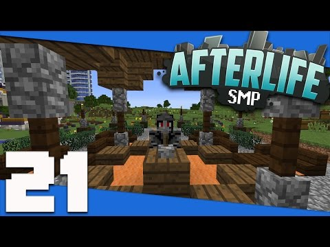 Minecraft: AfterLife SMP - S2 21 -The Great Purge! (Halloween Special) | 1.10 SMP Let