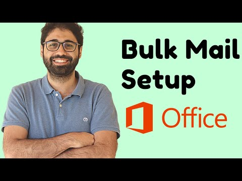 Office365 Cold Email Setup [2020] - Send Bulk Emails Step By Step Guide