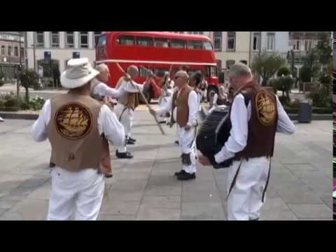 North Wood Morris Men and friends in France 2017
