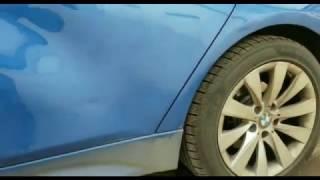 Reparatie usa infundata BMW F30 - tinichigerie fara revopsire