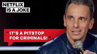 Sebastian Maniscalco Fears Gas Stations At Midnight | Netflix Is A Joke