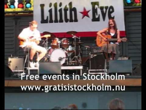 Maria Grönlund - Live @ Lilith Eve´s gala in Kungsträdgården 1(2)