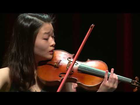 YEYEONG JIN  Menuhin Competition 2018 Junior first rounds - day 1