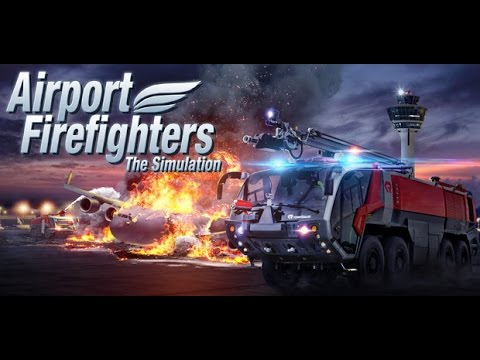 Airport Firefighters - The Simulation #1 Bombeiros de Aeroporto!