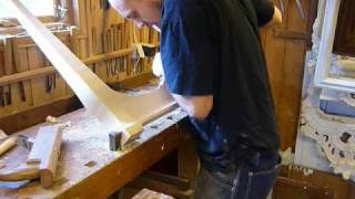 the making of a swedish rococo desk mpg